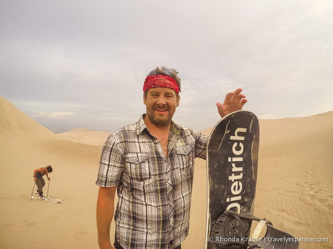 travelyesplease.com | Sandboarding in Huacachina- A Lesson With Sandboarding Peru