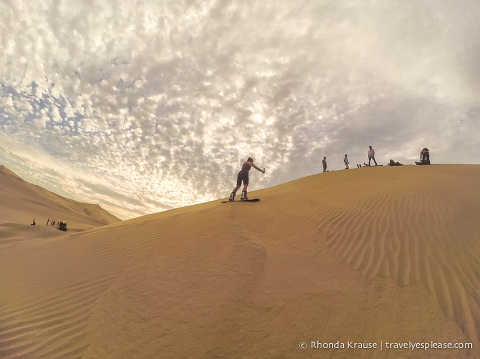 travelyesplease.com | Learning How to Sandboard With Sandboarding Peru