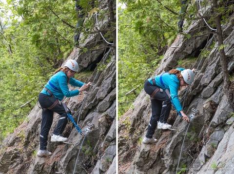 travelyesplease.com | Via Ferrata at Montmorency Falls Park, Quebec