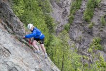 travelyesplease.com | Via Ferrata at Montmorency Falls Park, Quebec