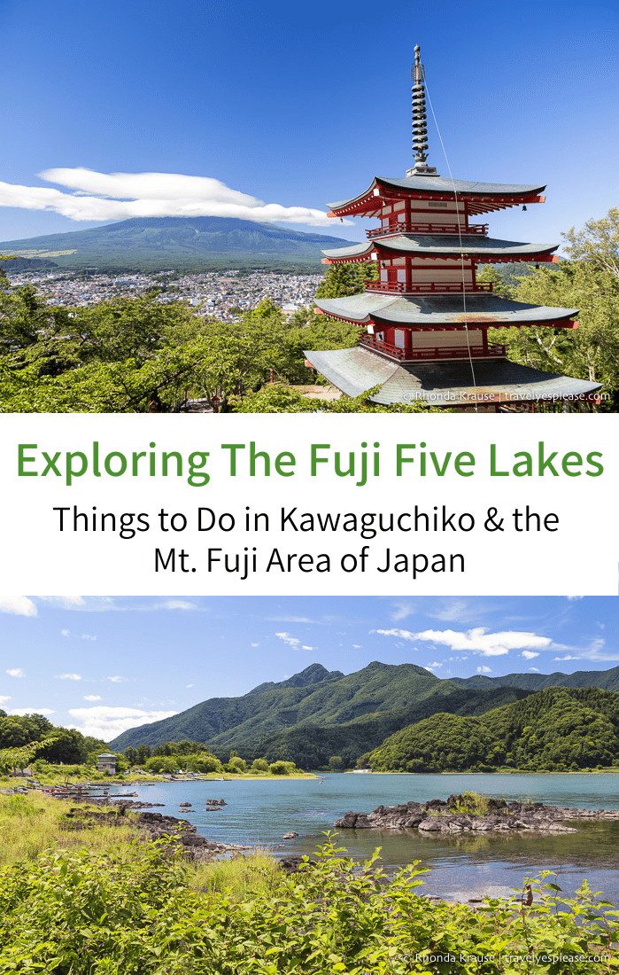 Exploring the Fuji Five Lakes- Things to Do Even When You Can\'t See Mt. Fuji