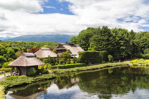 travelyesplease.com | Oshino Hakkai- 8 Sacred Ponds in the Fuji Five Lakes Region