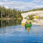 Canoeing the Yukon River- Whitehorse to Takhini River Bridge