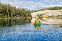 travelyesplease.com | Canoeing the Yukon River- Whitehorse to Takhini River