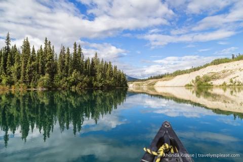 travelyesplease.com | Canoeing the Yukon River- Whitehorse to Takhini River