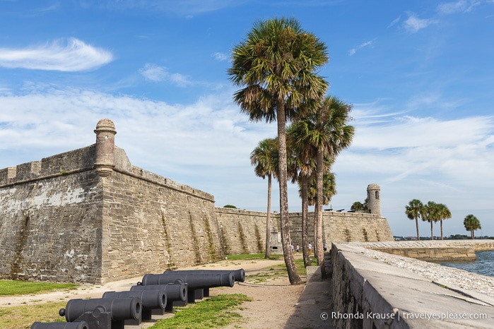 travelyesplease.com | Photo of the Week: Castillo de San Marcos, St. Augustine
