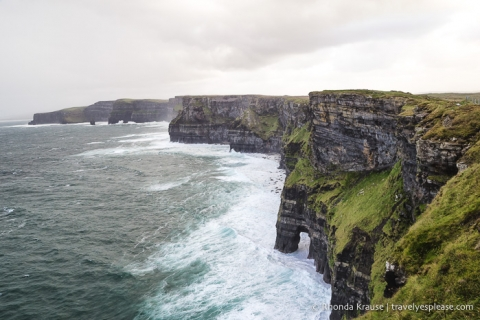 travelyesplease.com | Cliffs of Moher Coastal Walk- Walking the Cliffs of Moher from Hags Head