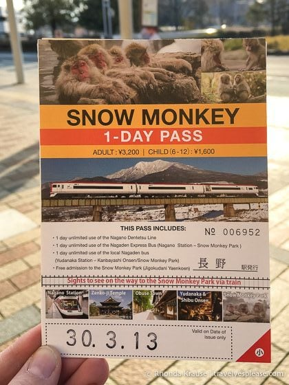 travelyesplease.com | Jigokudani Monkey Park- Trip From Nagano to See Wild Snow Monkeys