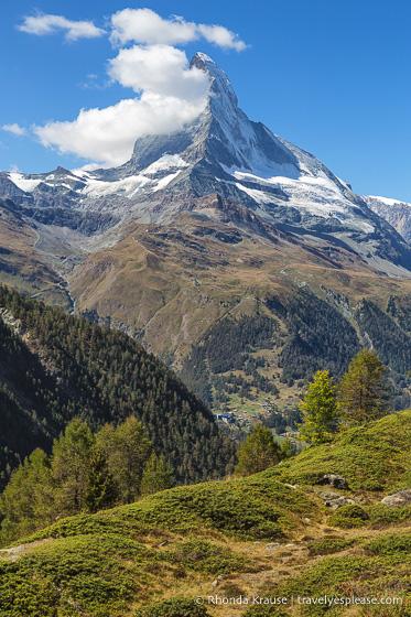 travelyesplease.com | Hiking the Five Lakes Trail in Zermatt