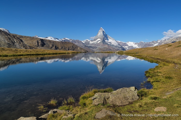 Hiking the Five Lakes Trail in Zermatt- The Best Views of
