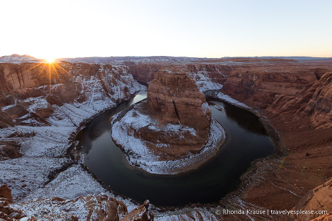 travelyesplease.com | Photo of the Week: Horseshoe Bend, Arizona