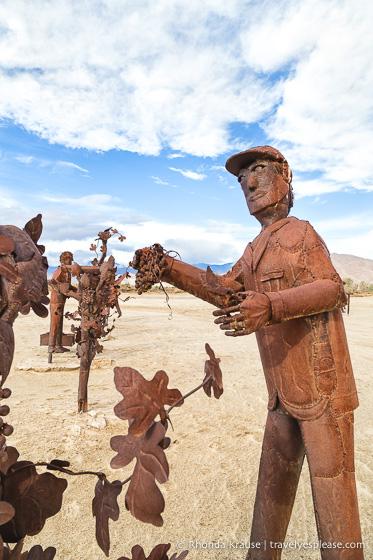 travelyesplease.com   Borrego Springs Sculptures- The Metal Sky Art Sculptures of Ricardo Breceda
