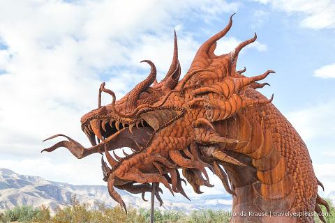 travelyesplease.com   Borrego Springs- Metal Sculptures in Galleta Meadows