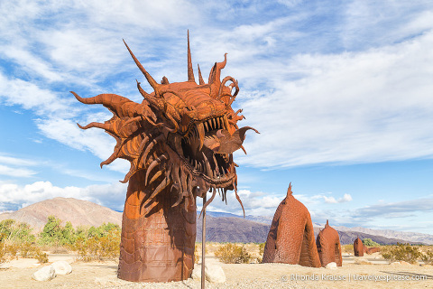 travelyesplease.com | Borrego Springs Sculptures- The Metal Sky Art Sculptures of Ricardo Breceda