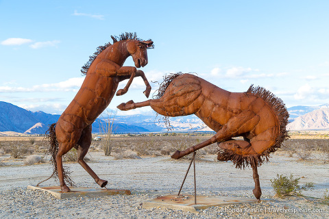 travelyesplease.com   Borrego Springs- Sculptures in Galleta Meadows