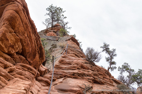 travelyesplease.com | Hiking Angels Landing Trail- What to Expect on Zion National Park's Most Iconic Hike
