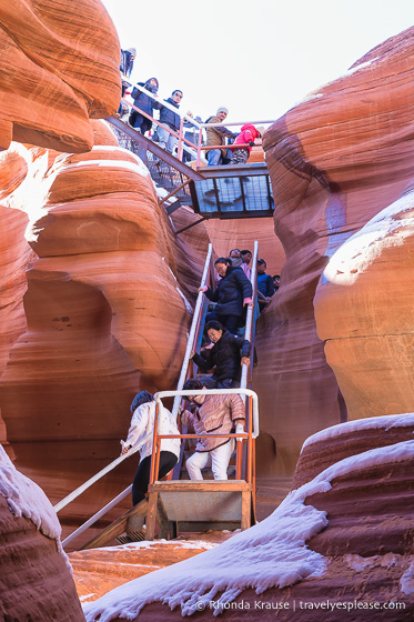 travelyesplease.com | Visiting Lower Antelope Canyon- Tour Inside a Colourful Slot Canyon in Arizona