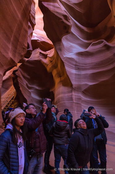 travelyesplease.com | Lower Antelope Canyon Tour- Visiting a Colourful Slot Canyon in Arizona
