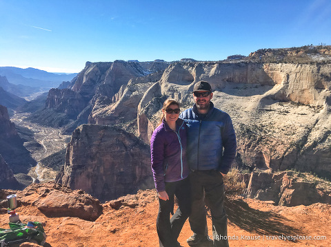 travelyesplease.com | Hiking to Observation Point in Zion National Park, Utah