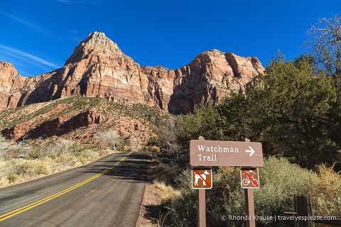 travelyesplease.com | Watchman Trail Hike in Zion National Park