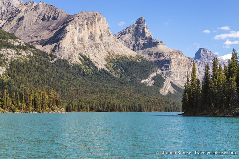 travelyesplease.com | Maligne Lake Cruise Review and Tips- Jasper National Park, Canada