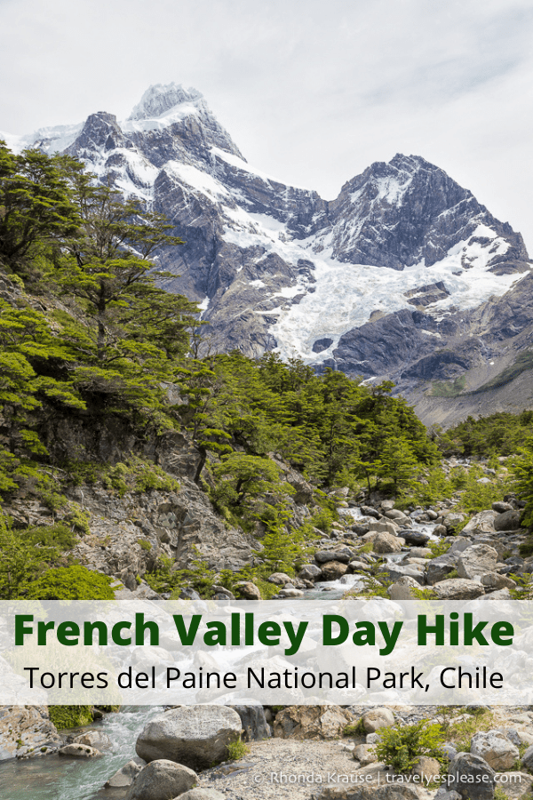 French Valley Day Hike- Hiking to Mirador Frances in Torres del Paine National Park