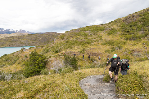 Hiking to the French Valley in Torres del Paine National Park