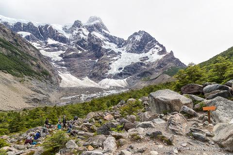 Near Mirador Glaciar Frances