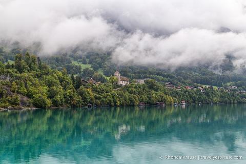 Scenery on the Lake Brienz cruise
