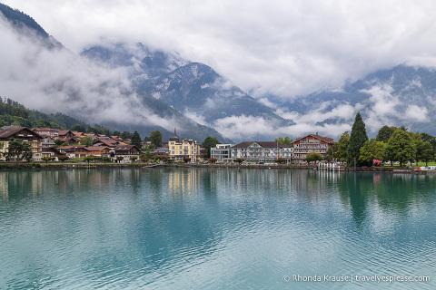 Bönigen, one of the villages around Lake Brienz