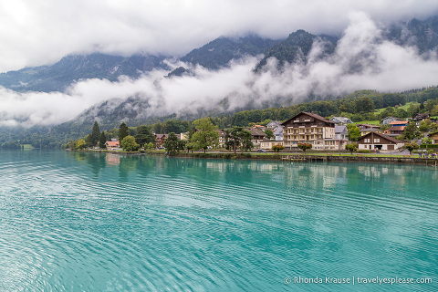 Scenery on the Lake Brienz boat tour