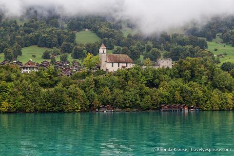 Ringgenberg and Lake Brienz