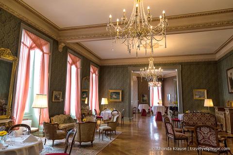 Interior of Grandhotel Giessbach
