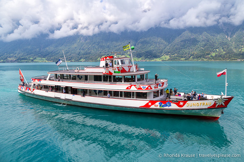 Lake Brienz boat cruise