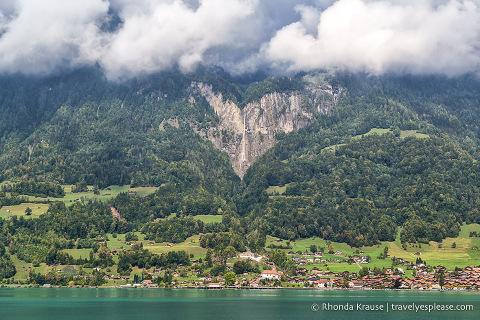 Scenery around Lake Brienz