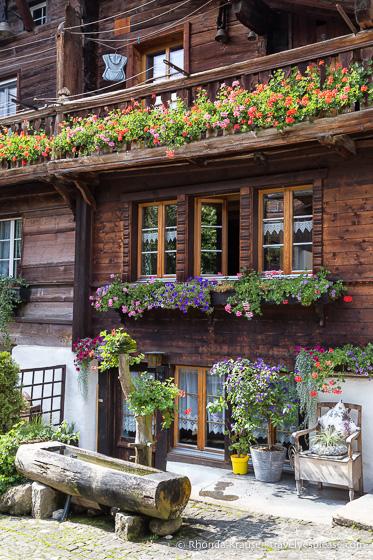 Brunngasse- Brienz, Switzerland