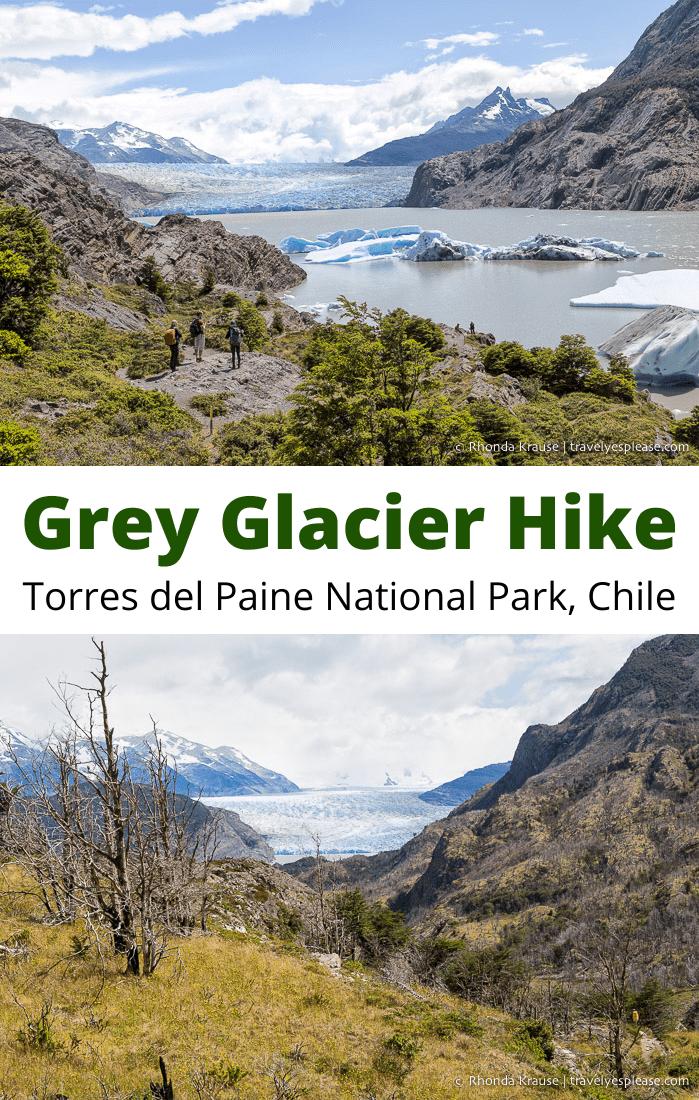 Grey Glacier Day Hike- Hiking to Grey Glacier in Torres del Paine National Park