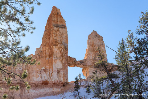 Tower Bridge in Bryce Canyon National Park