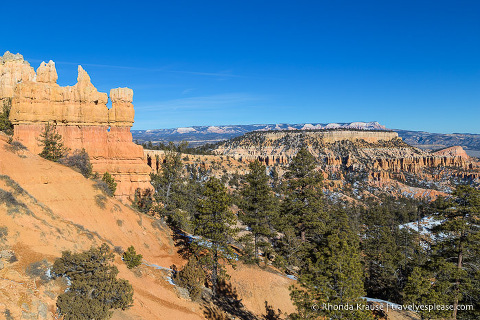 View from the Rim Trail in Bryce Canyon National Park