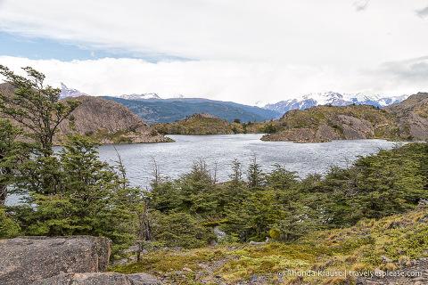 Laguna Los Patos viewpoint