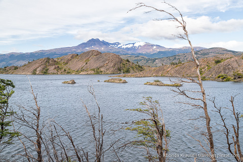 Small islands in Laguna Los Patos