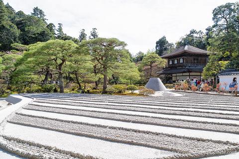 Things to do in Japan- Stroll through a Japanese garden (sand garden at Ginkaku-ji Temple, Kyoto)