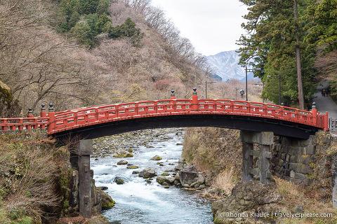 Things to do in Japan- Explore Nikko (sacred red bridge at Nikko)