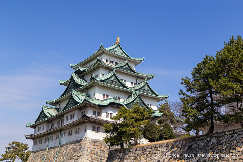 Things to do in Japan- Tour a Japanese castle (the main keep of Nagoya Castle)