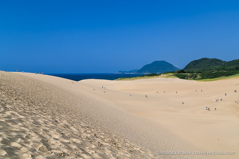 Things to do in Japan- Visit the Tottori Sand Dunes (Tottori Sand Dunes and the Sea of Japan)