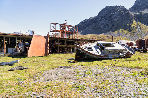 Ruins of the Grytviken whaling station