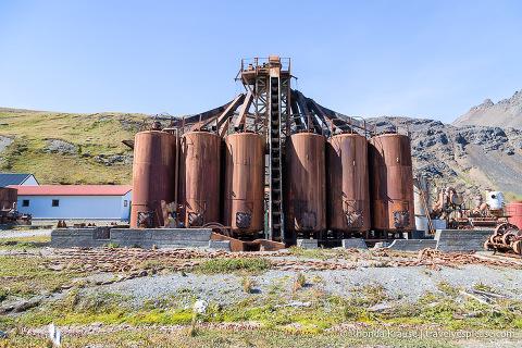 Blubber Cookery- Grytviken Whaling Station