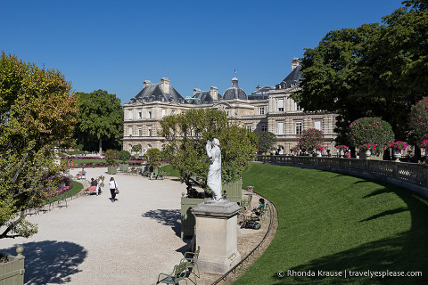 Luxembourg Gardens in Paris