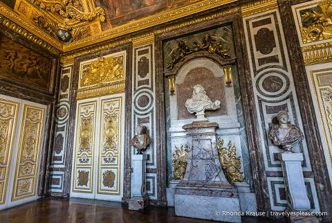 Inside the Palace of Versailles- The Diana Drawing Room