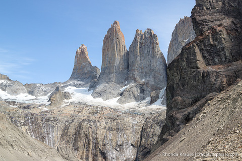 Torres del Paine (the towers).